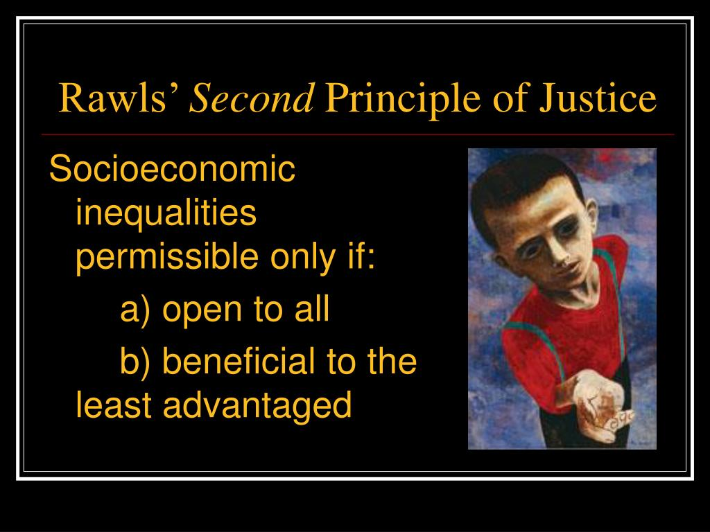 rawlsian standards of social justice But, as david friedman reminds us, theories of social justice face  now, that's a  far cry from rawls' insistence that we maximize the position of the  up to some  preferred distributional standard, advocates of social justice.