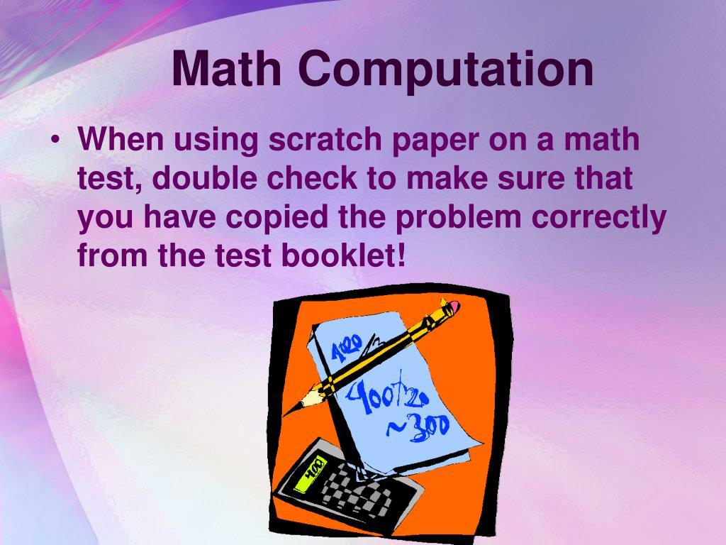 Math Computation