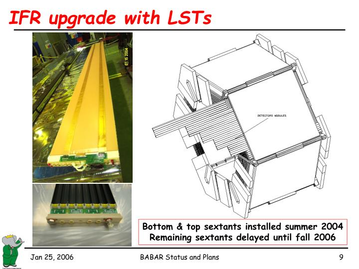 IFR upgrade with LSTs