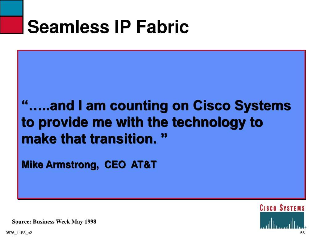 Seamless IP Fabric