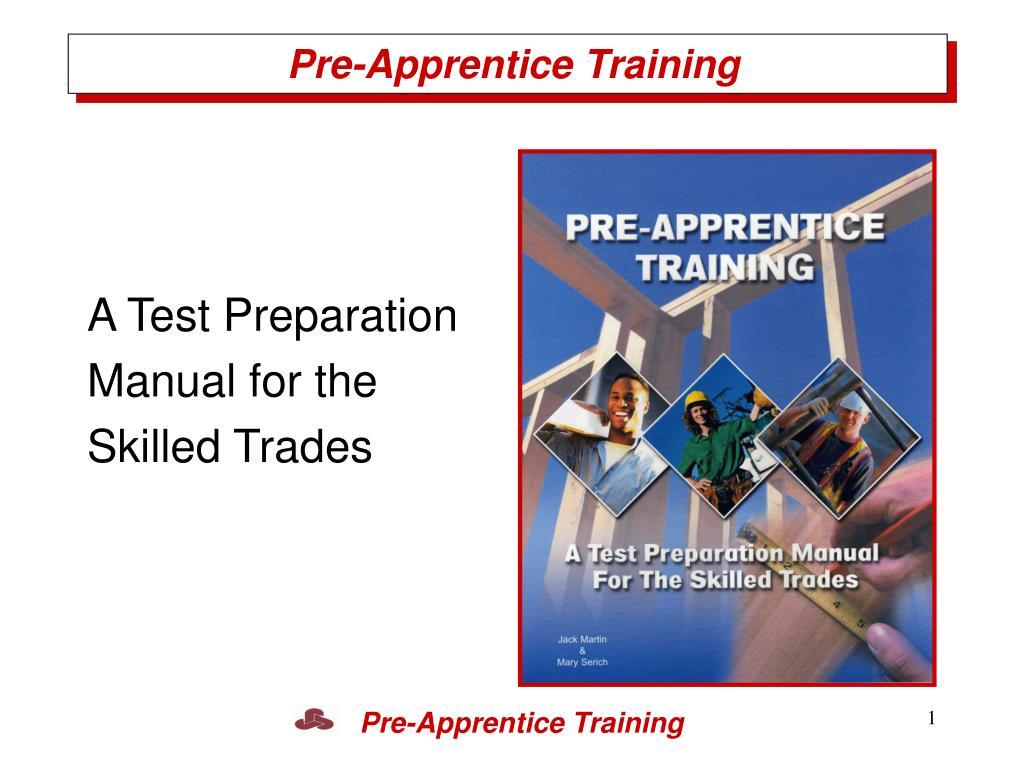 Pre-Apprentice Training