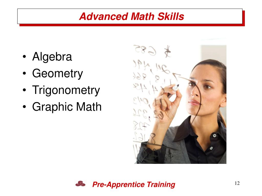 Advanced Math Skills