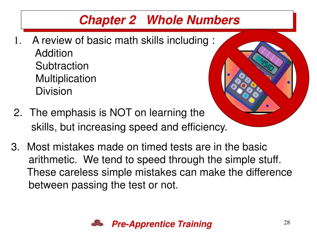 Chapter 2   Whole Numbers