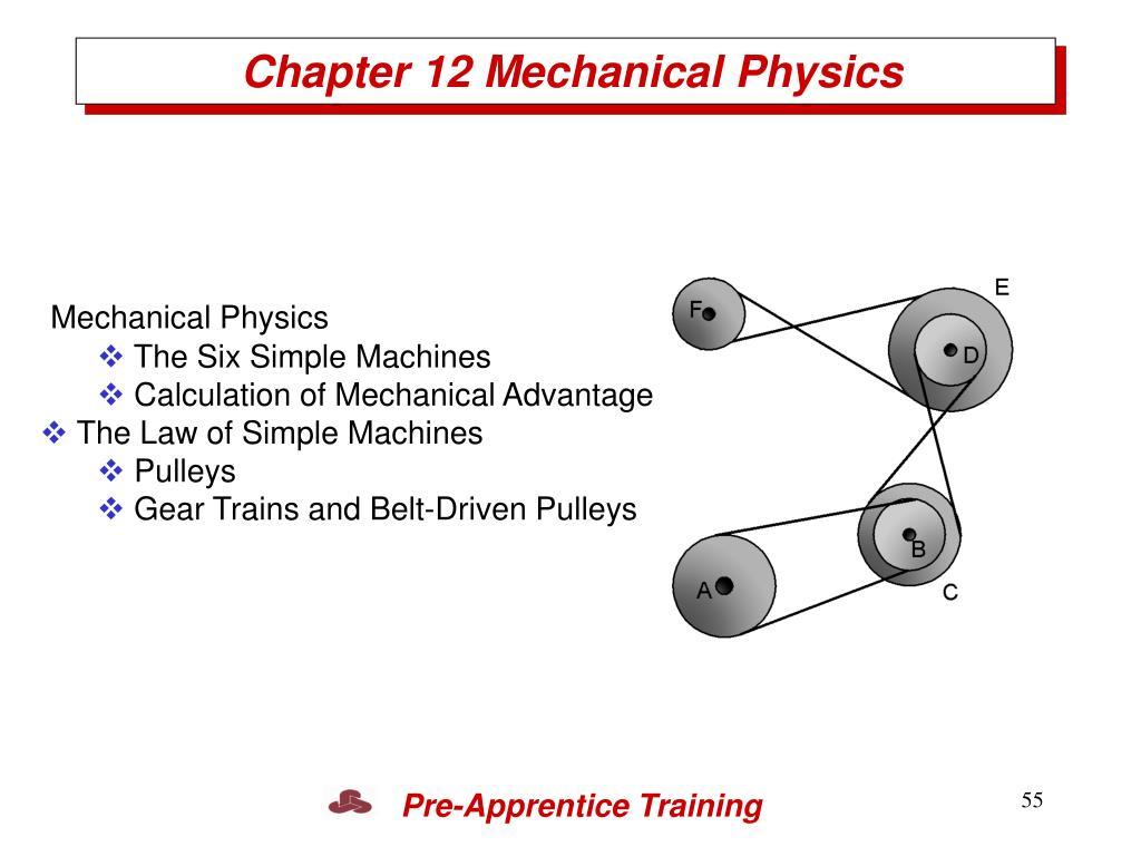 Chapter 12 Mechanical Physics