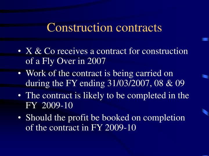 Construction contracts l.jpg