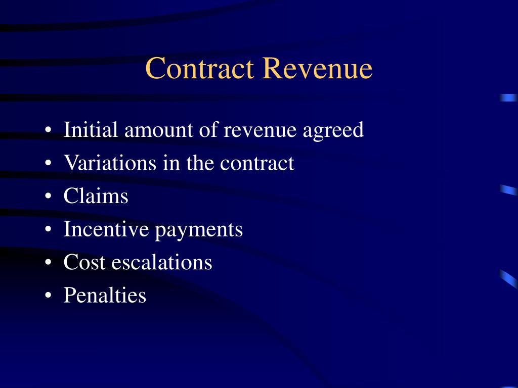 Contract Revenue