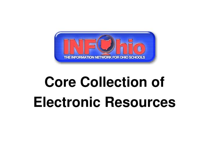 Core Collection of