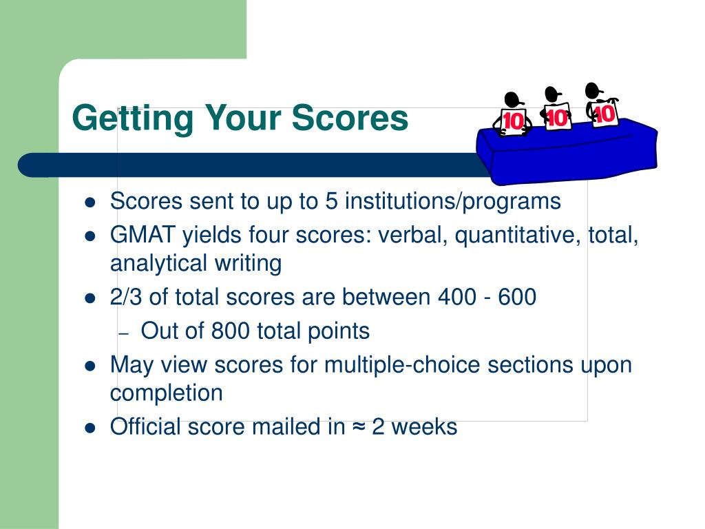 Getting Your Scores