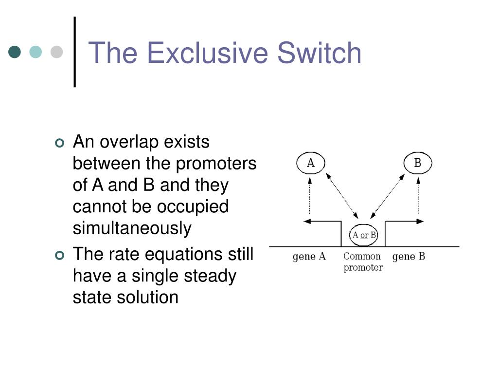 The Exclusive Switch