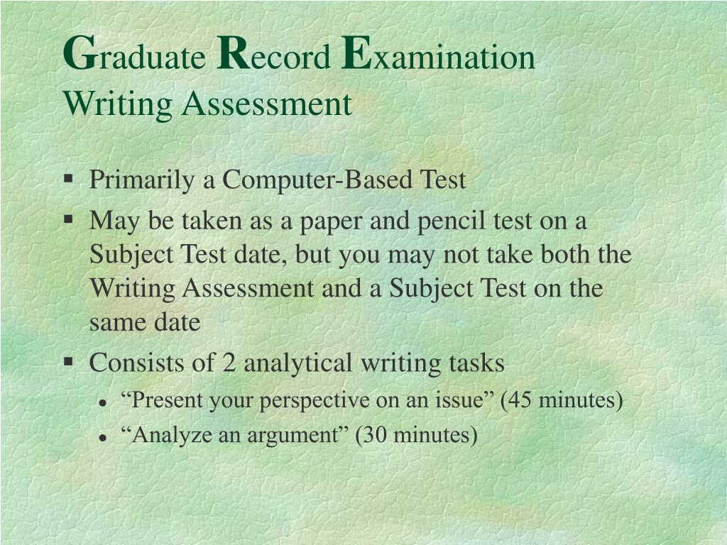 Primarily a Computer-Based Test