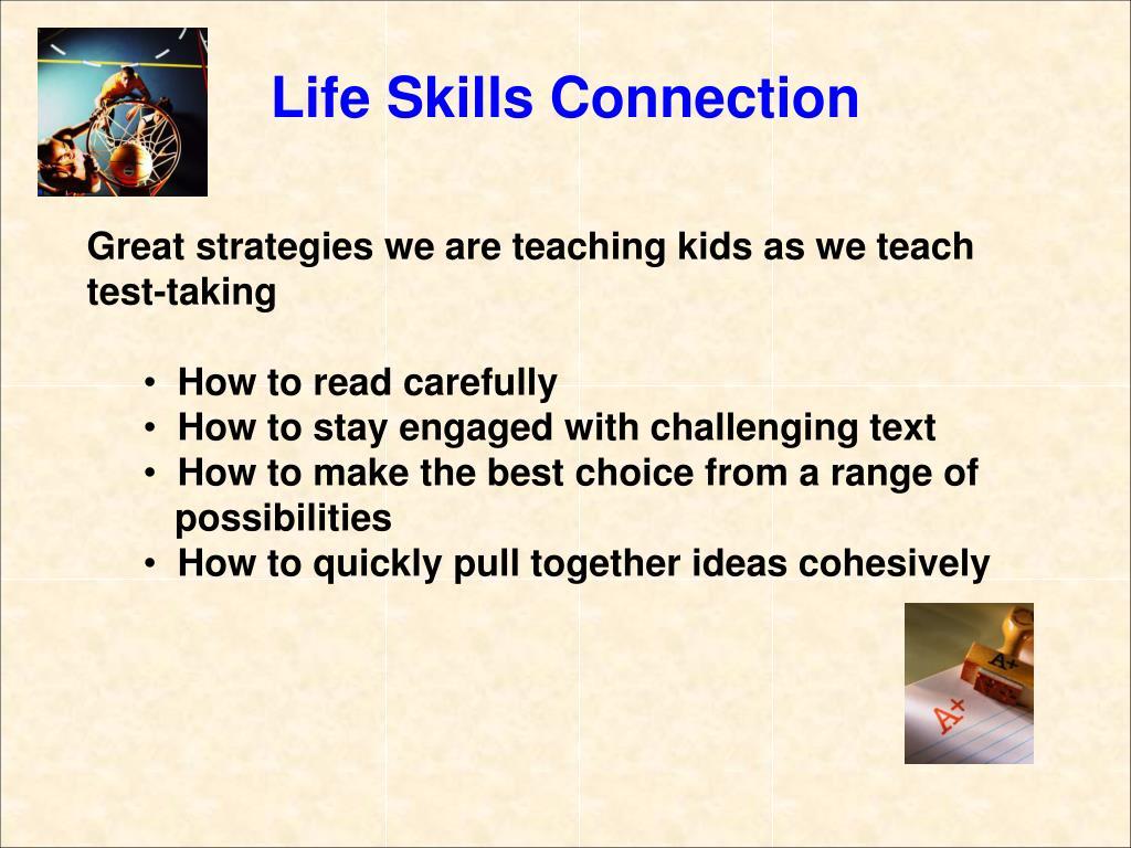 Great strategies we are teaching kids as we teach test-taking