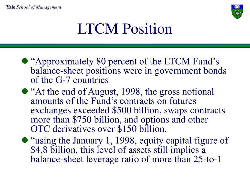 LTCM Position
