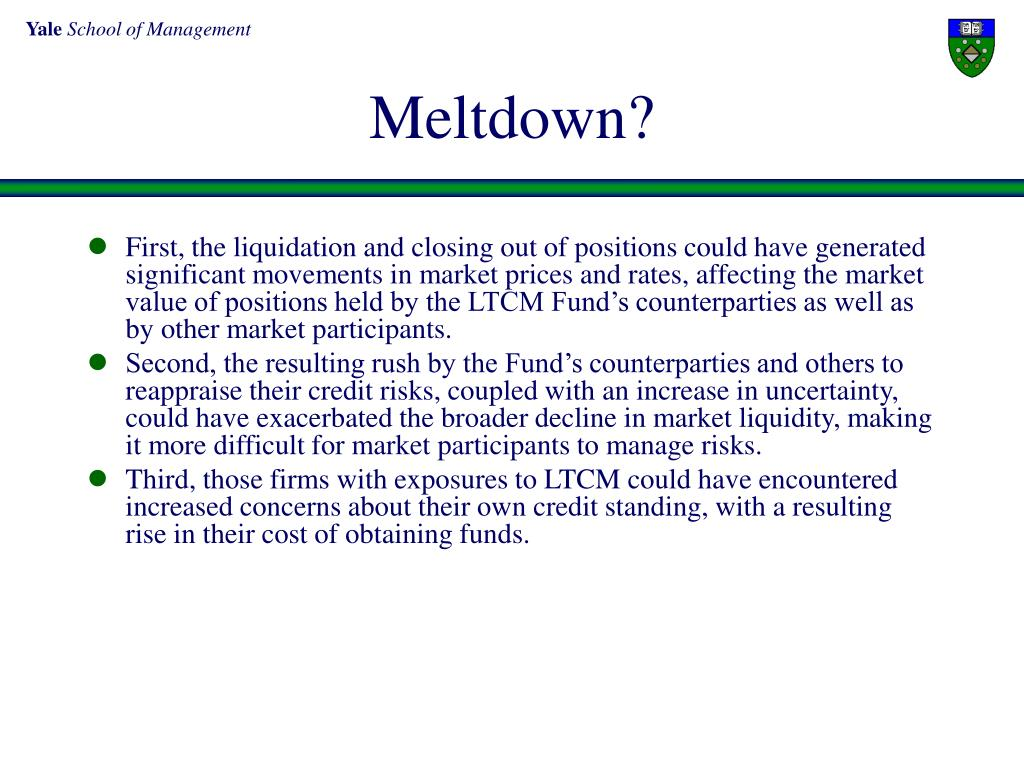 Meltdown?