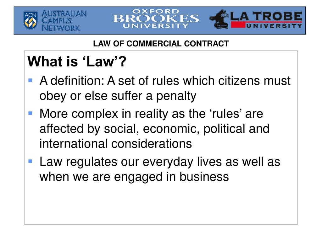 What is 'Law'?