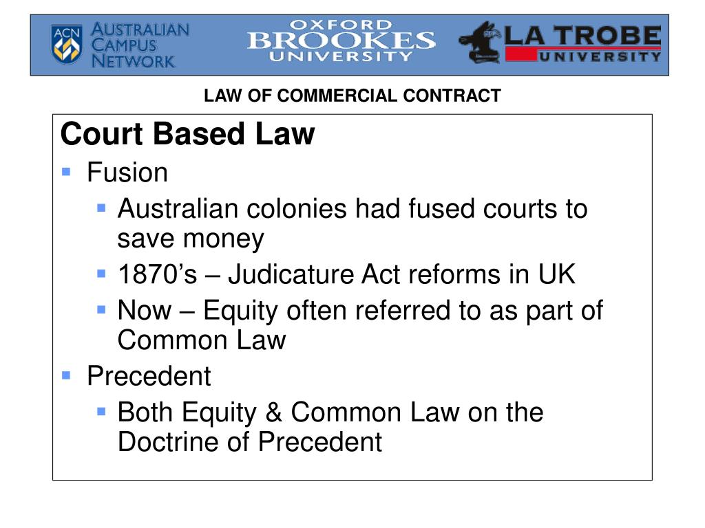 Court Based Law