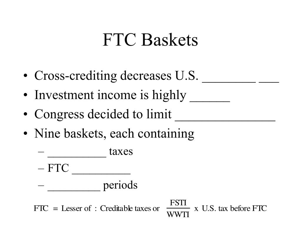 FTC Baskets