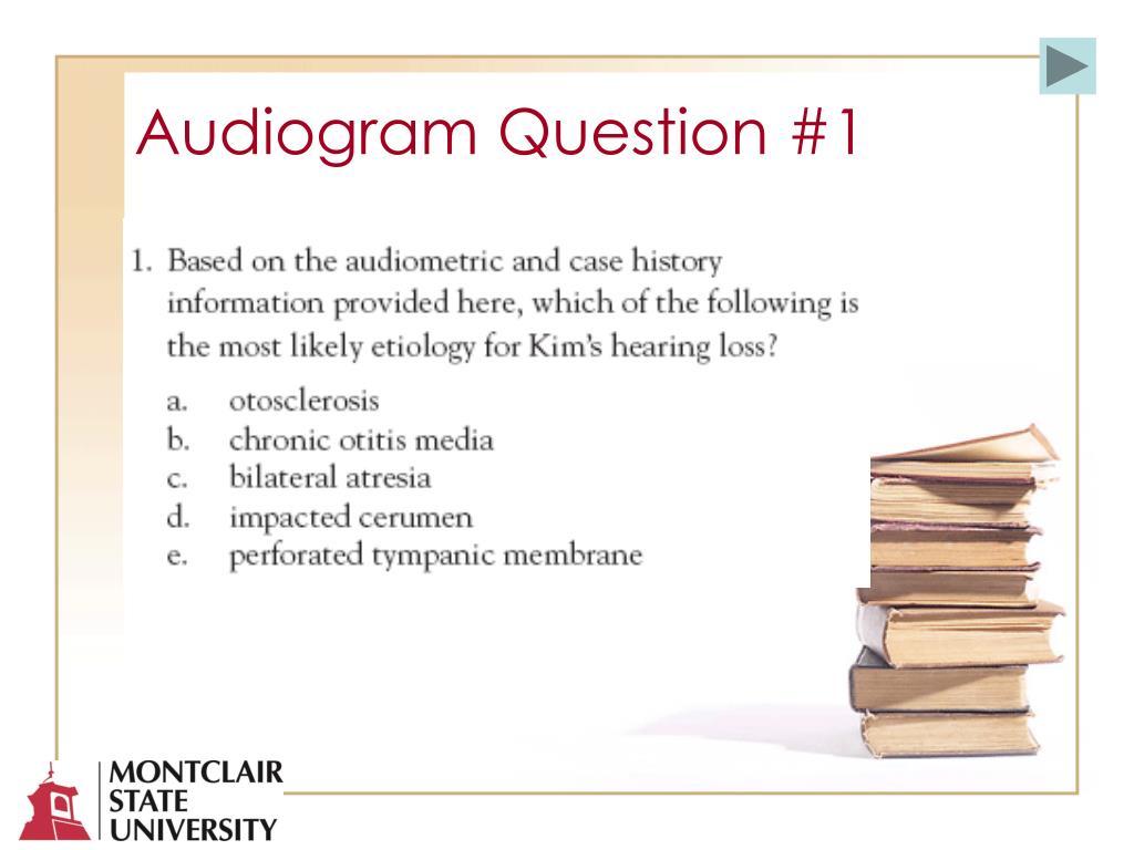 Audiogram Question #1