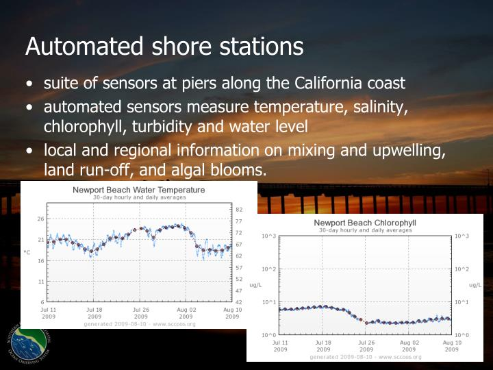 Automated shore stations