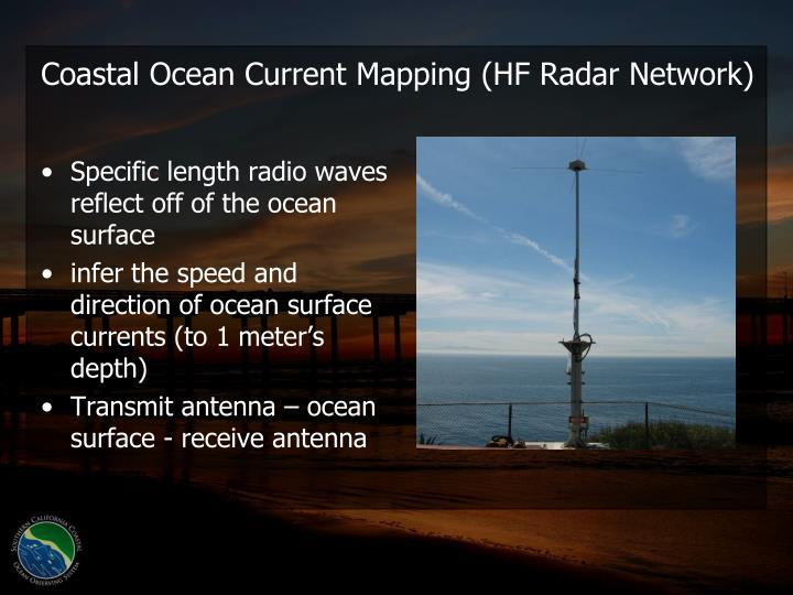 Coastal Ocean Current Mapping (HF Radar Network)