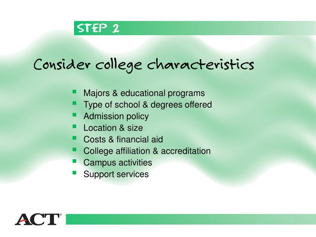Majors & educational programs