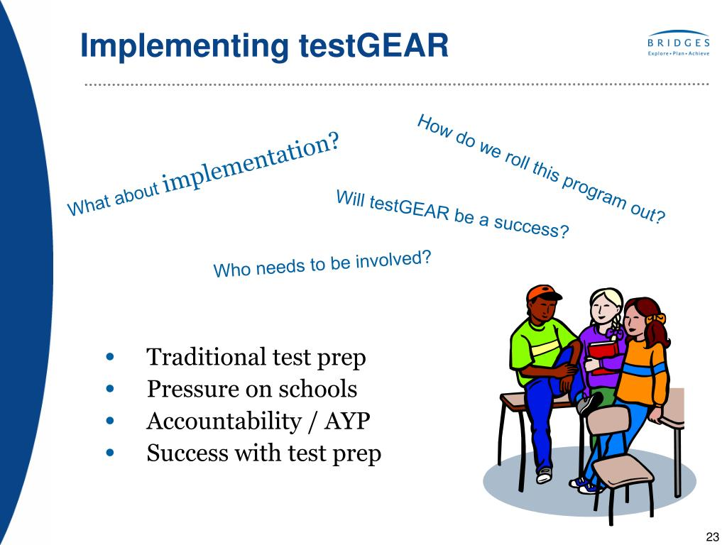 Implementing testGEAR