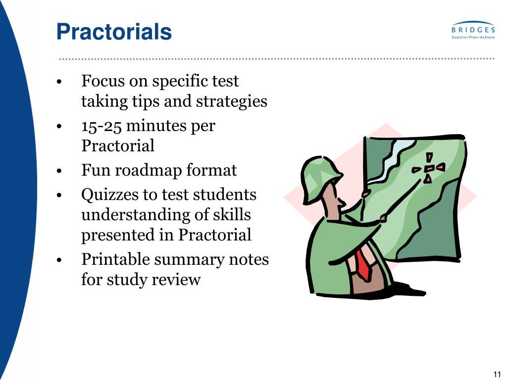 Practorials