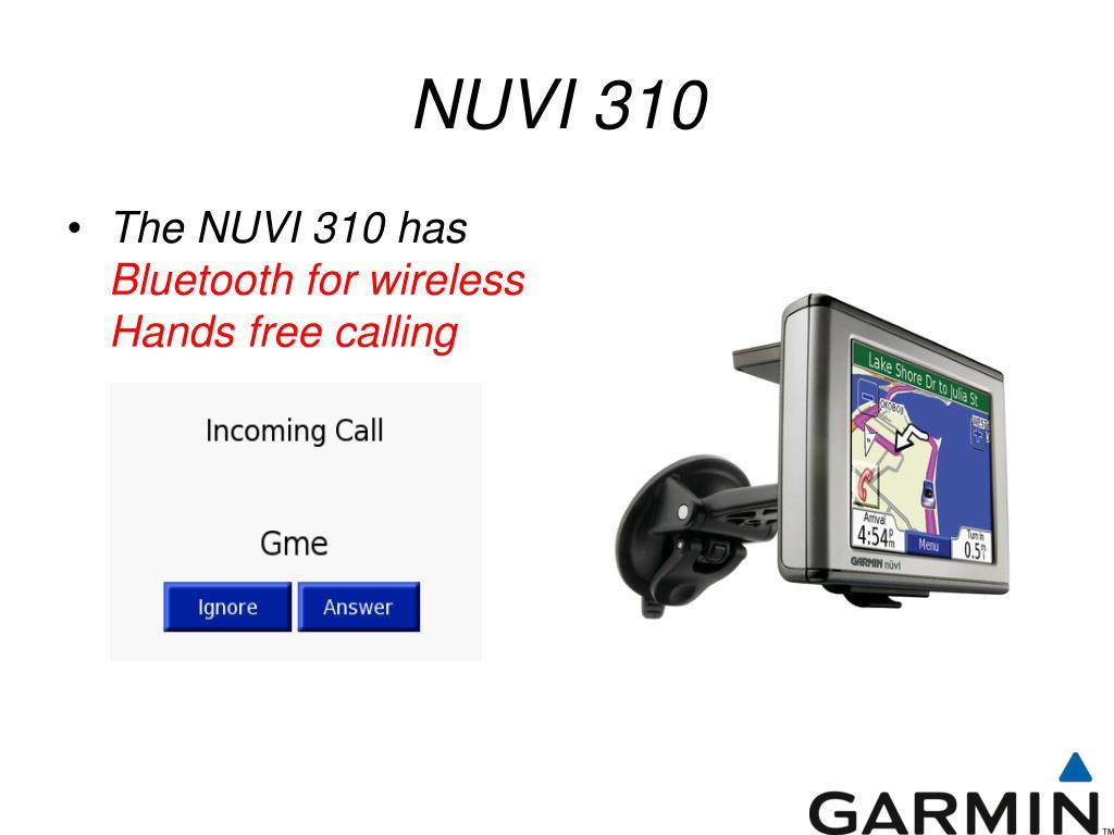 NUVI 310