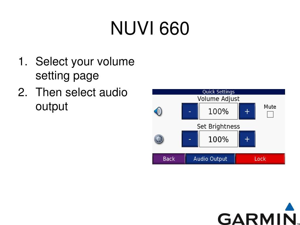 NUVI 660
