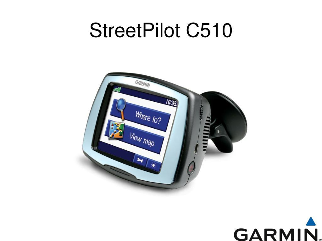 StreetPilot C510