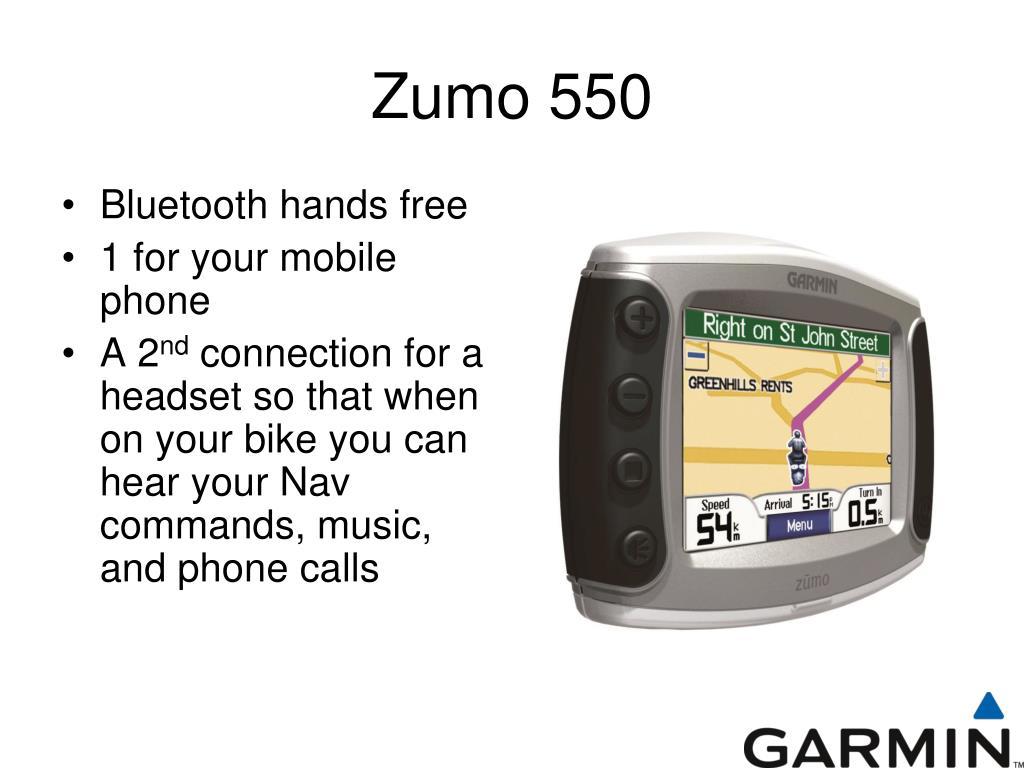Zumo 550