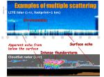 examples of multiple scattering
