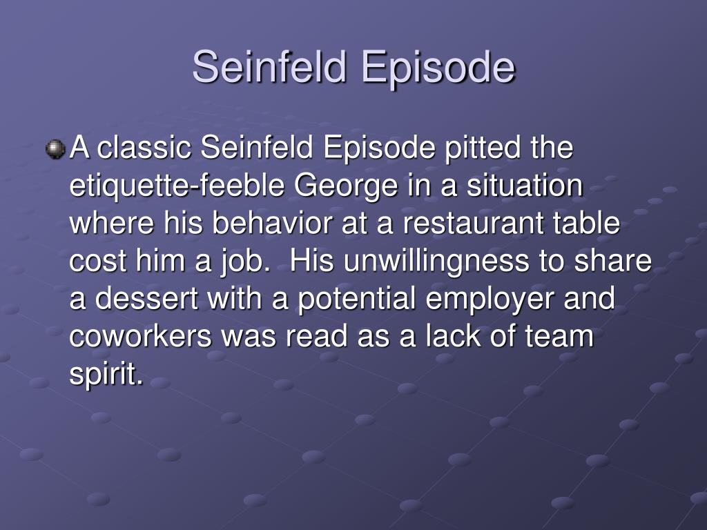Seinfeld Episode