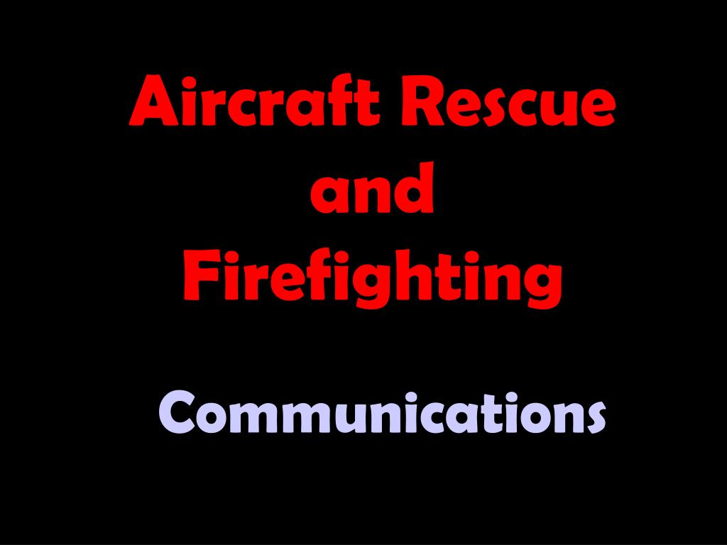 Aircraft Rescue