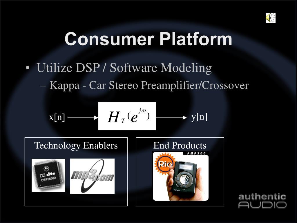 Consumer Platform