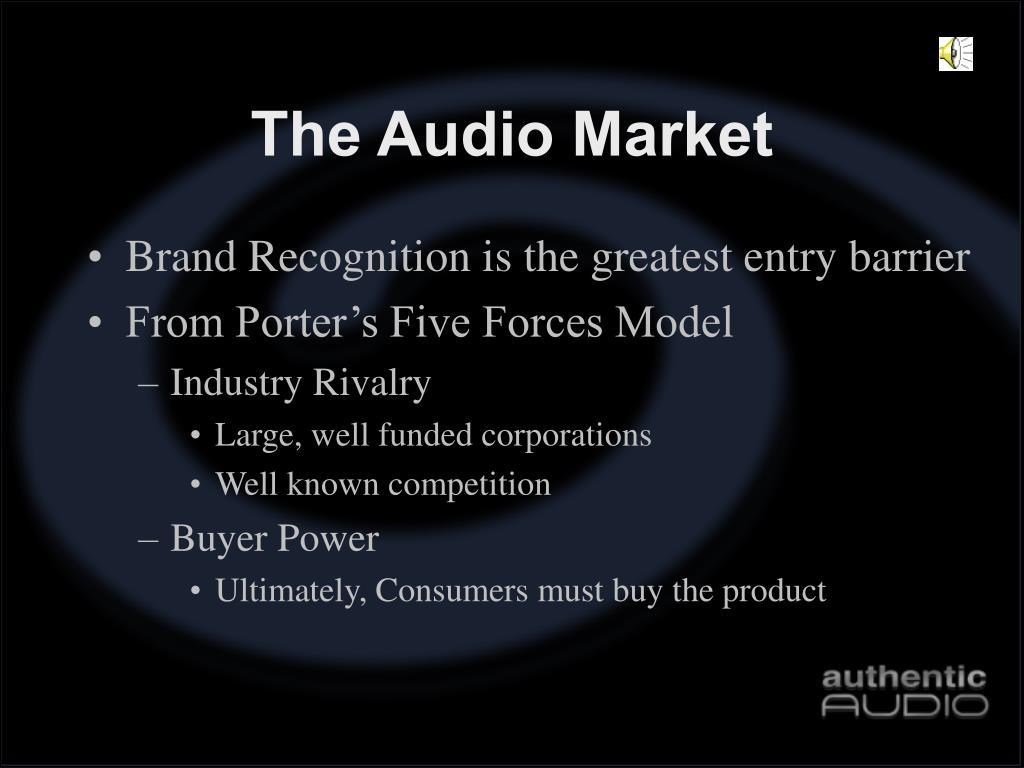 The Audio Market