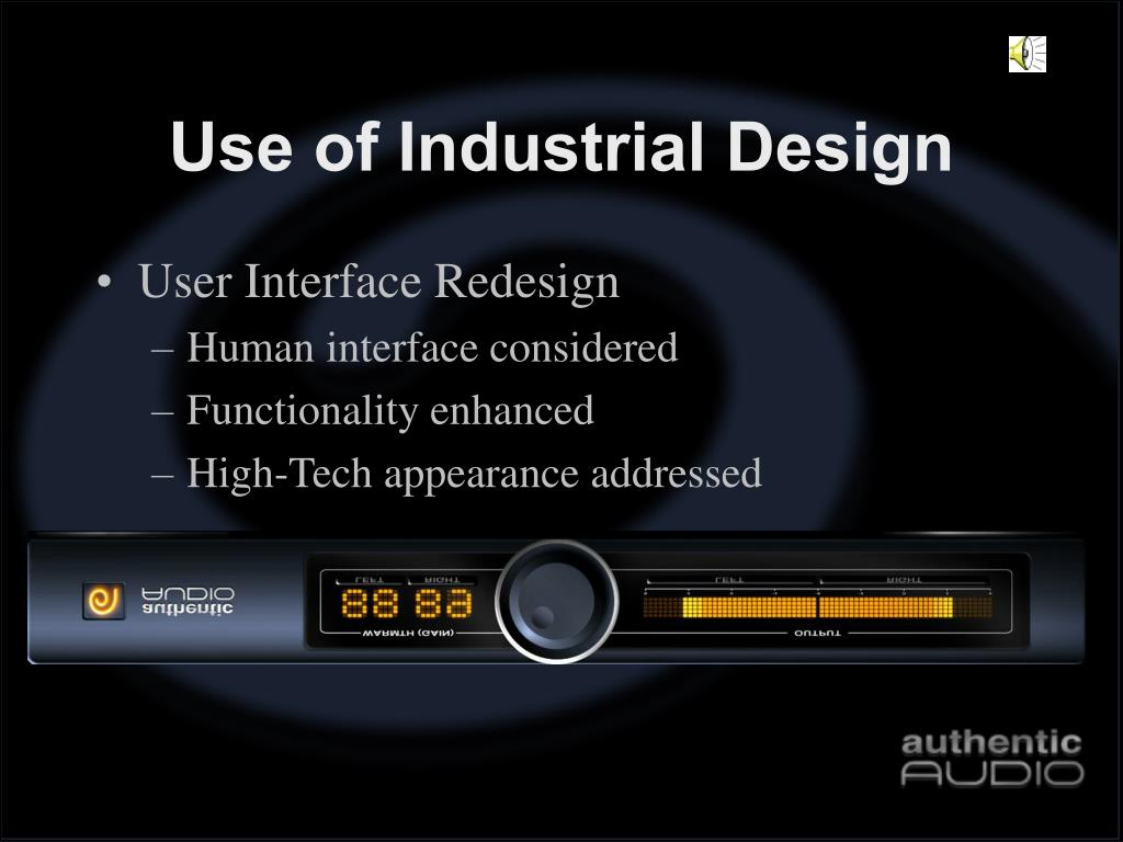 Use of Industrial Design