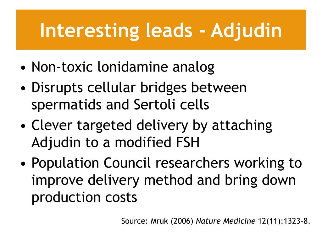 Interesting leads - Adjudin