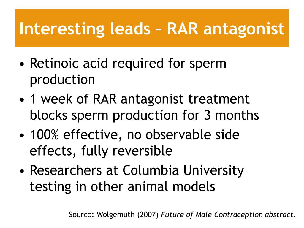 Interesting leads – RAR antagonist