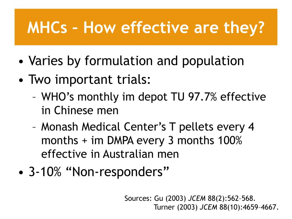 MHCs – How effective are they?