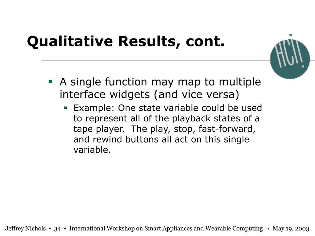 Qualitative Results, cont.