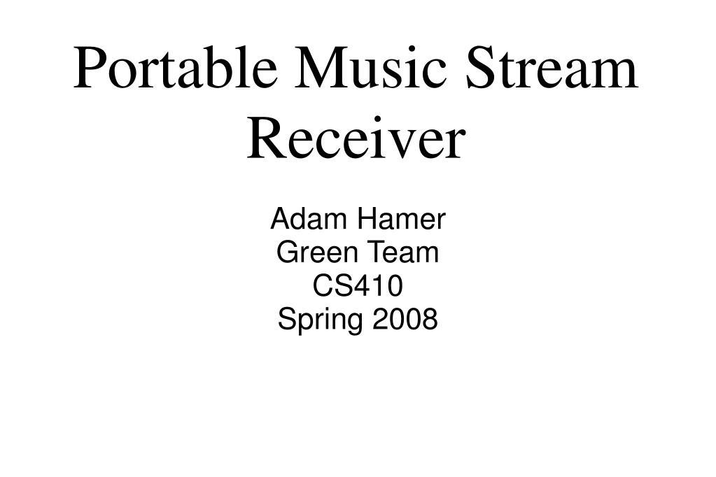 Adam Hamer