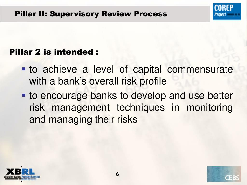Pillar II: Supervisory Review Process
