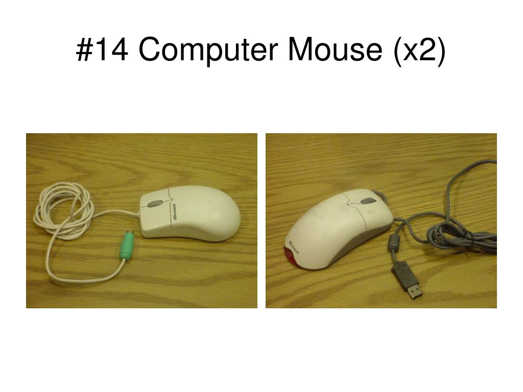 #14 Computer Mouse (x2)