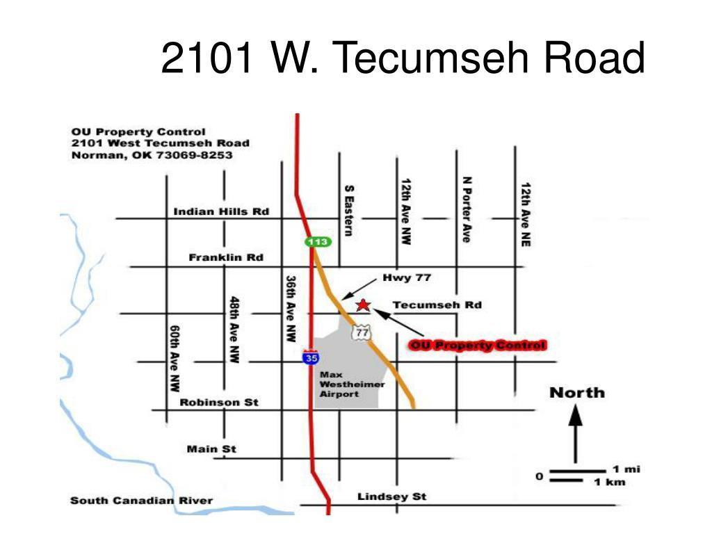 2101 W. Tecumseh Road