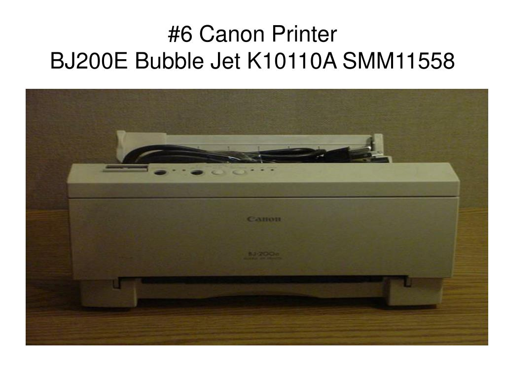 #6 Canon Printer