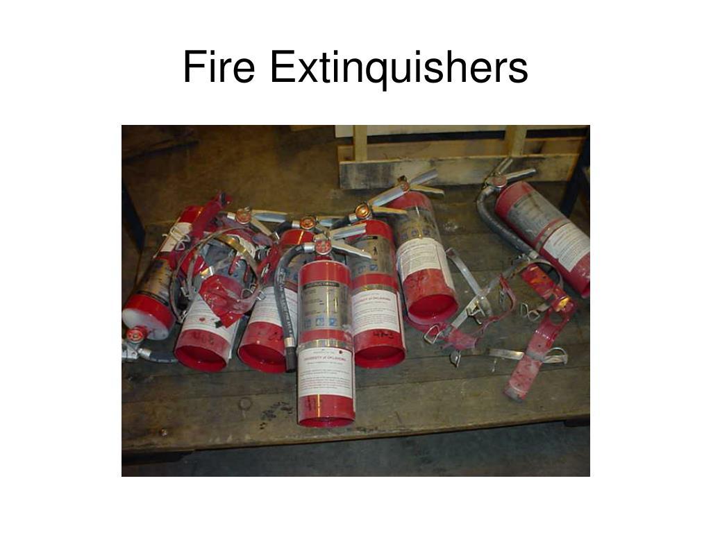 Fire Extinquishers