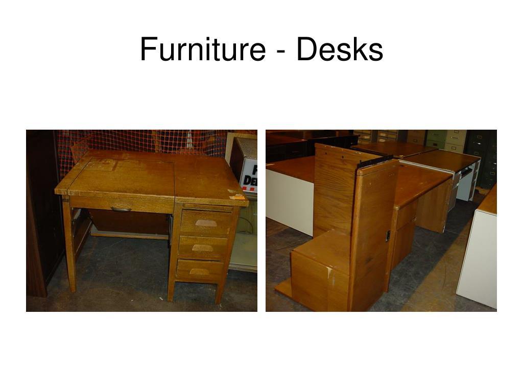 Furniture - Desks