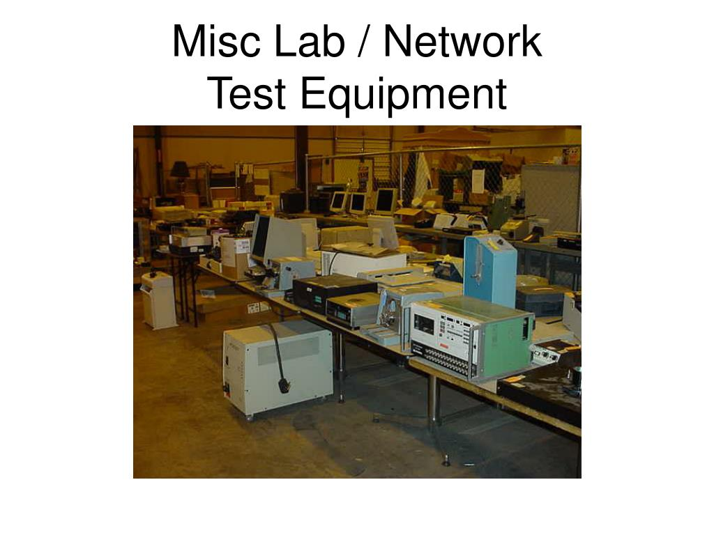 Misc Lab / Network