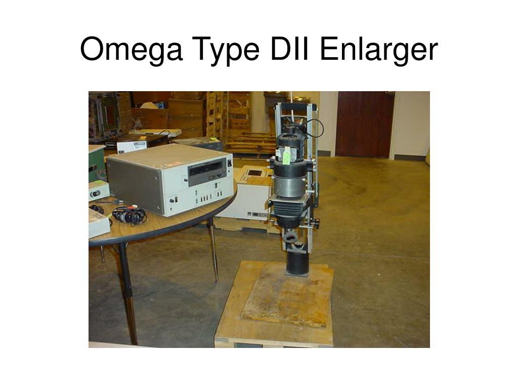 Omega Type DII Enlarger