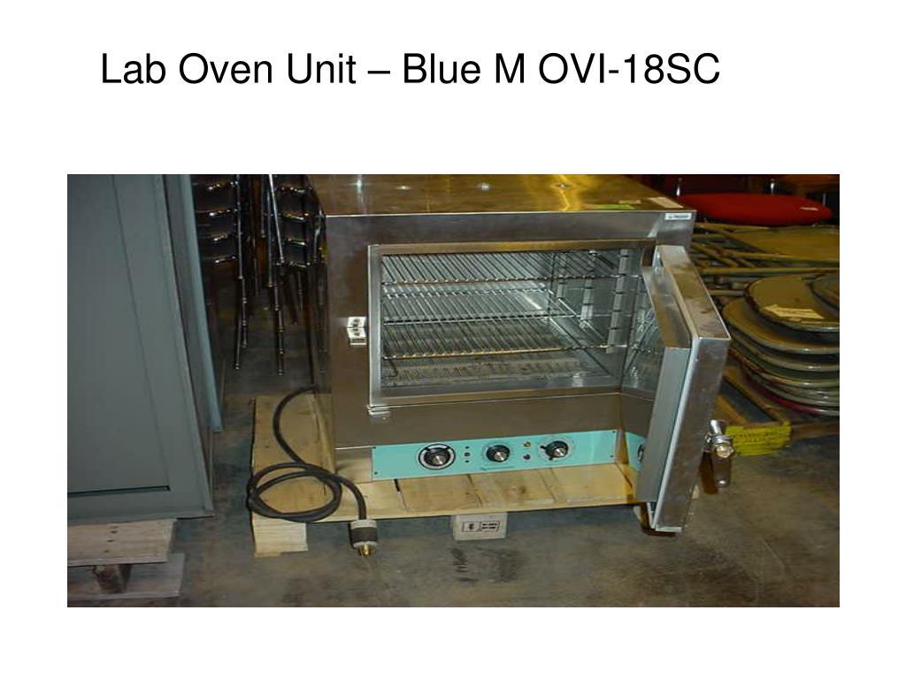 Lab Oven Unit – Blue M OVI-18SC